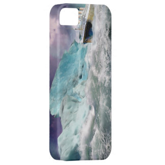 RMS Titanic and Iceberg Painting iPhone 5 Cover