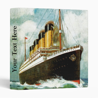 RMS Titanic Binder