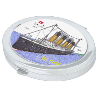 RMS Titanic - Compact Mirror