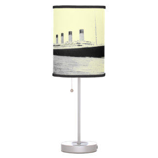 RMS Titanic Passenger Liner Table Lamp