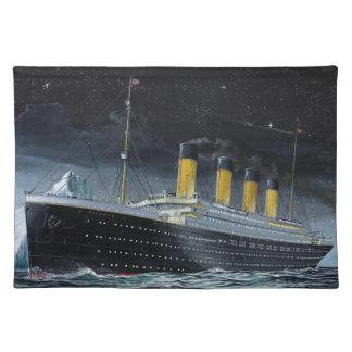 RMS Titanic Placemat
