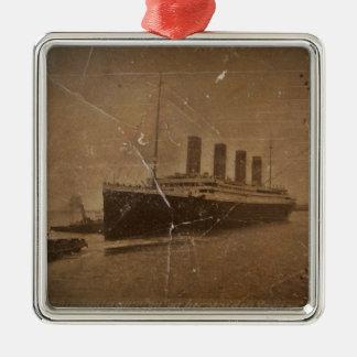 RMS Titanic Southampton Metal Ornament