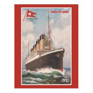 RMS Titanic White Star Line Postcard