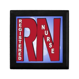RN BIG RED JEWELRY BOX