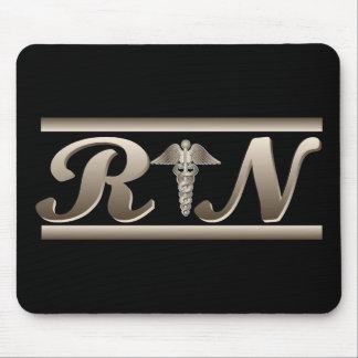 RN Caduceus Mouse Pad