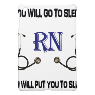 RN Go to Sleep iPad Mini Cover