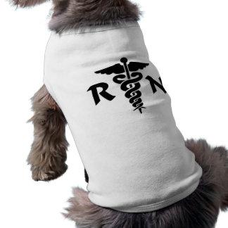 RN Medical Symbol Doggie Tshirt