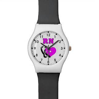 RN Nurses Care Wristwatch