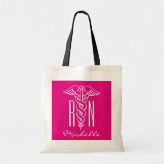 RN nursing tote bag for registered nurse or lpn