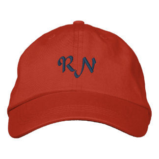 RN Registered Nurse Embroidered Hat