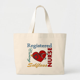 RN - Registered Nurse Large Tote Bag