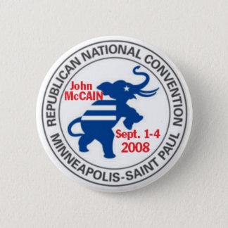 RNC Convention McCAIN Button Republican