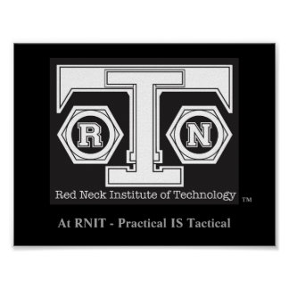RNIT Poster - Practical is Tactical