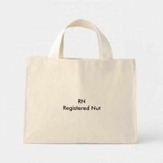 RNRegistered Nut Mini Tote Bag
