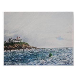 Roaches Point, Light, Oil: Photo Print
