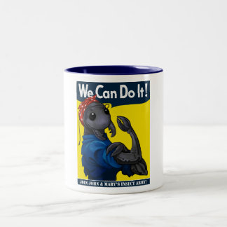 Roachie the Riveter Mug