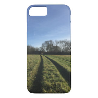 Road and field iPhone 7 case