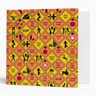 Road and Highway Signs Binder
