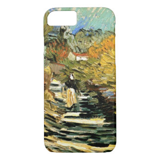 Road at Saint-Remy Female Figure, Vincent van Gogh iPhone 7 Case