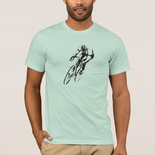 Road Bike Racing Front T-Shirt