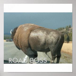 Road Boss Poster