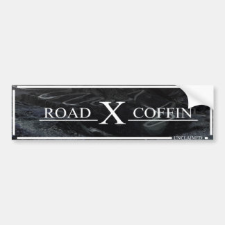 Road Coffin Bumper Sticker