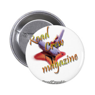 "Road Crew Music Magazine ""Roadie Gear"" Pins"
