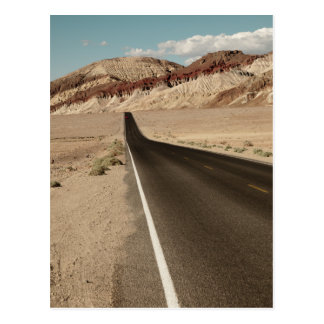 Road Death Valley Postcard