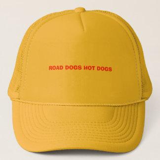 ROAD DOGS HOT DOGS TRUCKER HAT