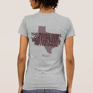 Road Goes On Forever T-shirt
