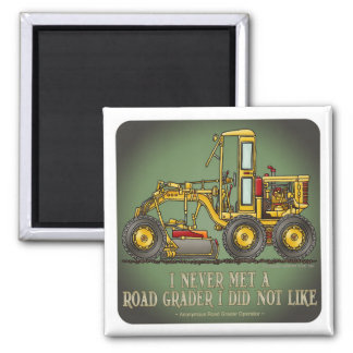 Road Grader Operator Quote Magnet
