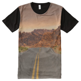 Road / Highway - Sunset - Valley of Fire