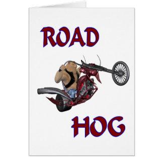 Road Hog Card