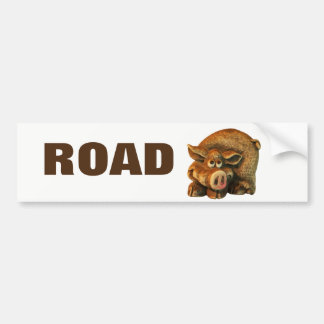 Road Hog Trailer or RV Bumper Sticker