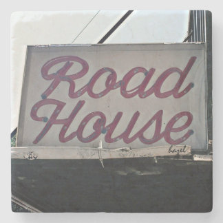 Road House, Athens, Georgia, Marble Stone Coaster. Stone Coaster