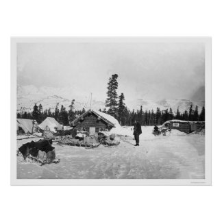 Road House Valdez Trail 1916 Poster