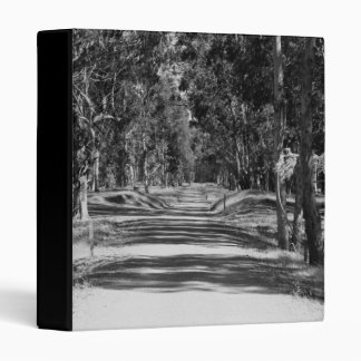 Road In A Park Binder