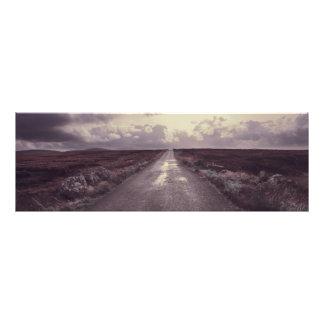 Road in Ireland Photographic Print