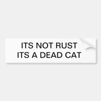 Road Kill Bumper Sticker