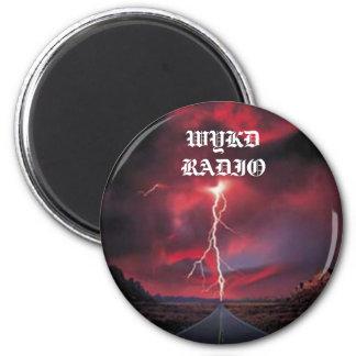 Road LIghtening, WYKD RADIO Magnet