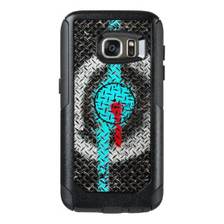 Road Marking Paint- Red Blue White OtterBox Samsung Galaxy S7 Case