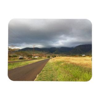 Road Near Lahaina, Maui, Hawaii Magnet