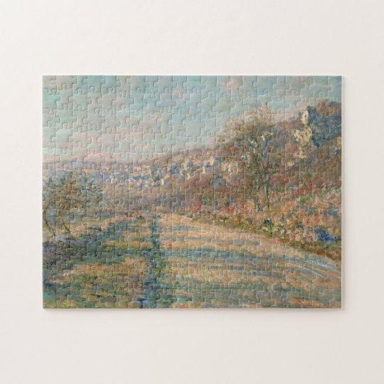 Road of La Roche-Guyon Monet Fine Art Jigsaw Puzzle