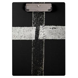 Road Paint - Cross Clipboard