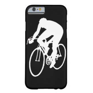 """Road racing cyclist"" Barely There iPhone 6 Case"