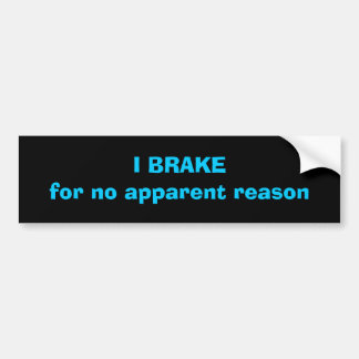 Road Rage Collection Bumper Sticker