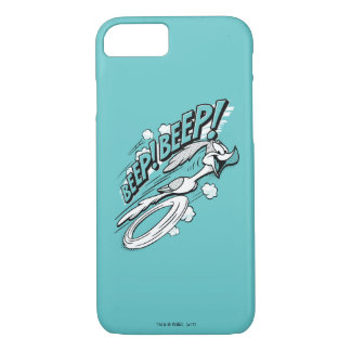 "ROAD RUNNER™ ""BEEP BEEP!"" Halftone iPhone 8/7 Case"
