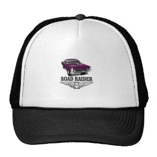 road runner purple trucker hat