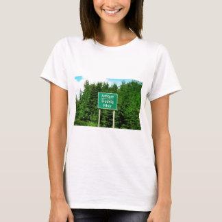 Road Sign, Judique, Cape Breton T-Shirt