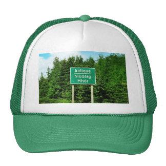 Road Sign, Judique, Cape Breton Trucker Hat